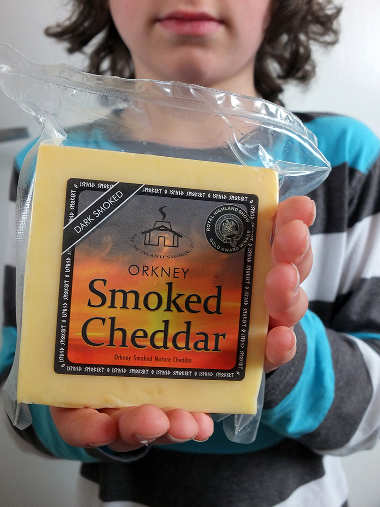 Orkney Smoked Cheddar