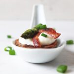 Potato Canapes with Bacon and Asparagus 3b