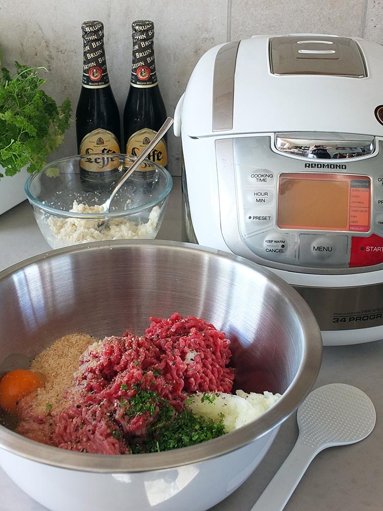 Redmond Multicooker Meatballs