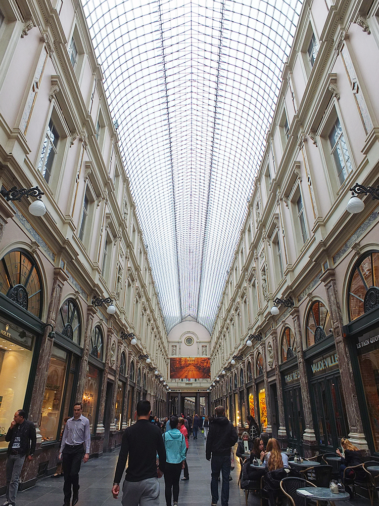 Royal Galleries, Brussels