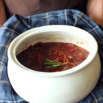 Venison Stew with Tomatoe-Fruits from the Outlander Kitchen Cookbook