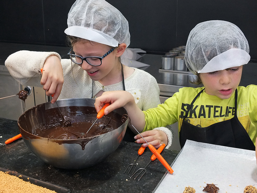 Zaabar Chocolate Workshop, Brussels