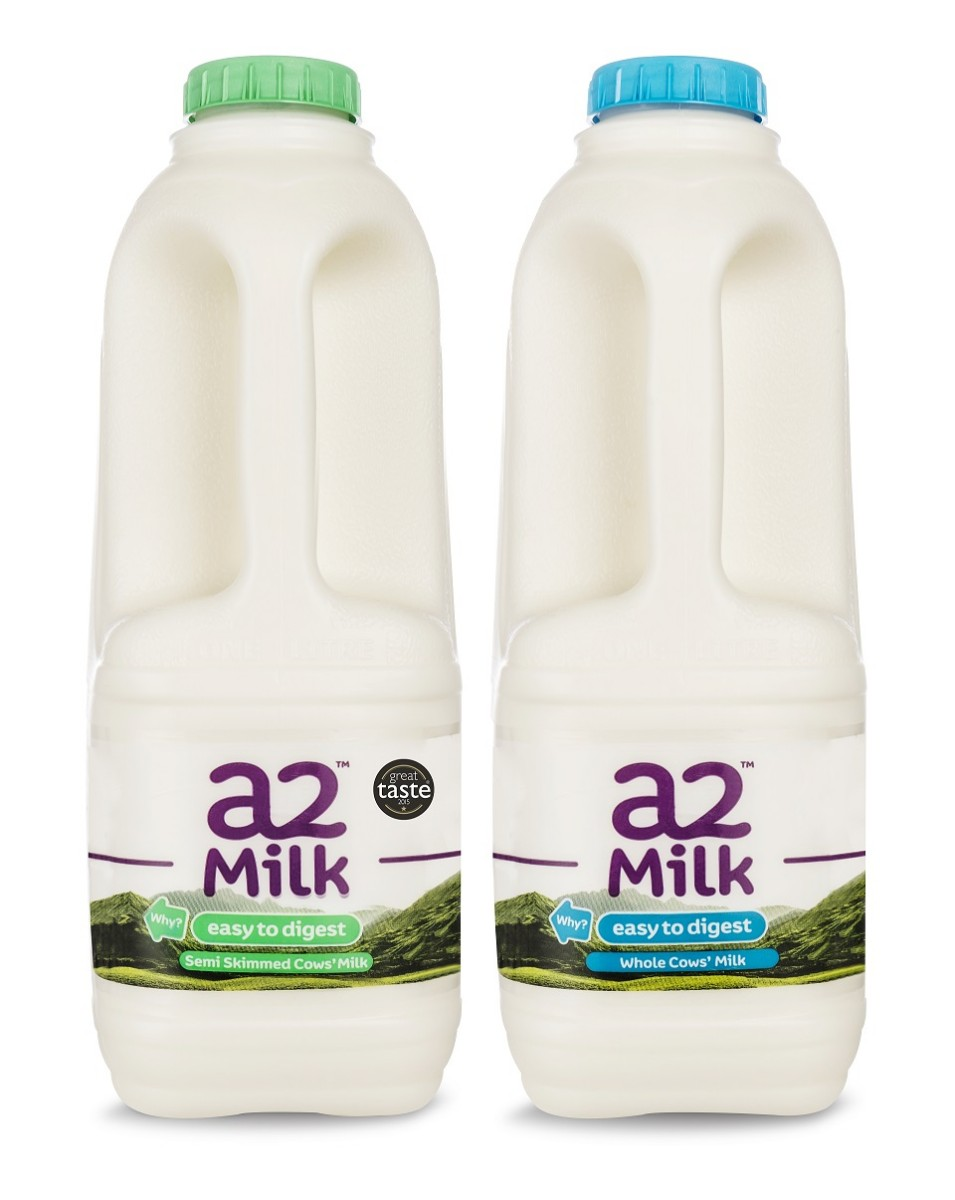 a2 Milk - Whole and semi-skimmed