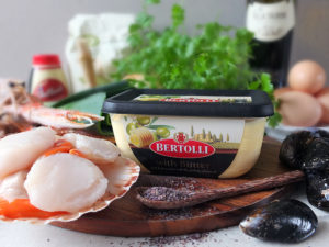 Ingredients for Seafood Linguine - Bertolli with Butter