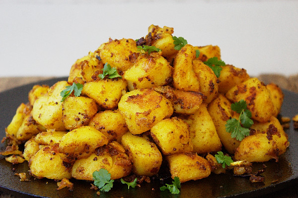 Easy Bombay Potatoes by Tales from the Kitchen Shed