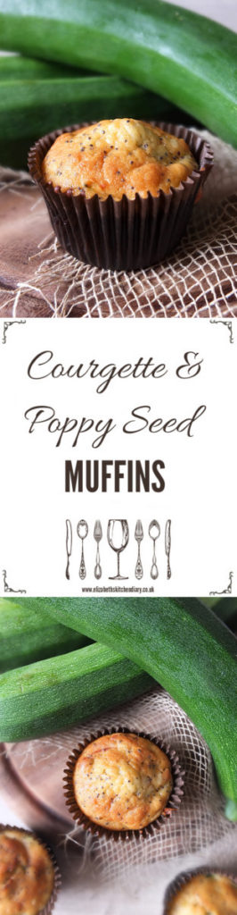 Courgette & Poppy Seed Muffins
