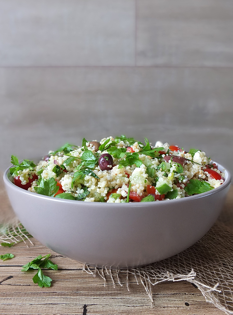 Mediterranean-inspired Couscous Salad