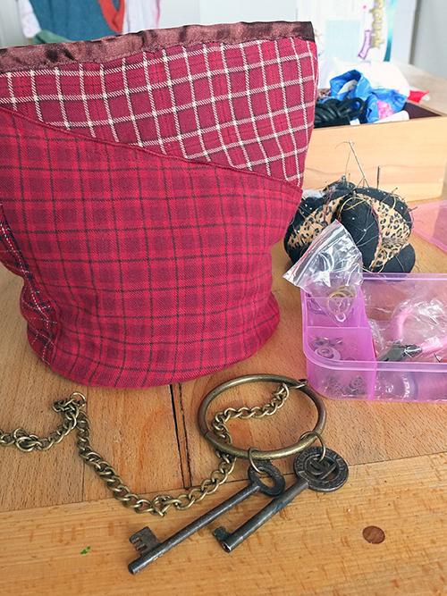 DIY Steampunk Lunch Bag