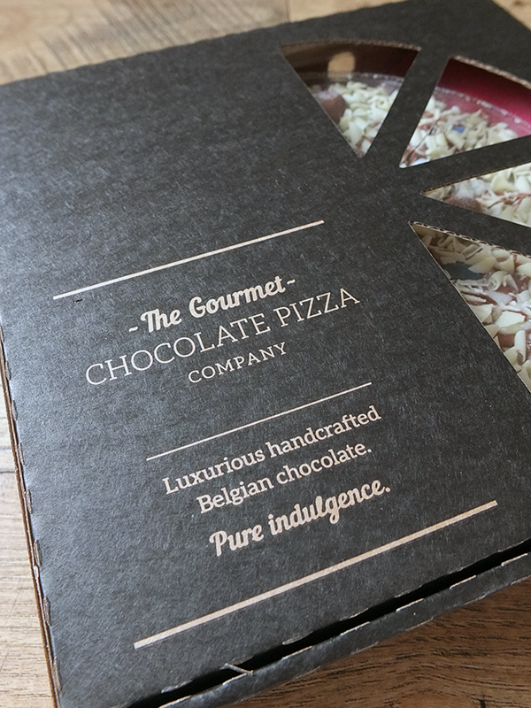 The Gourmet Chocolate Pizza Co - review and giveaway