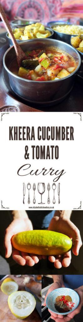Kheera Cucumber and Tomato Curry