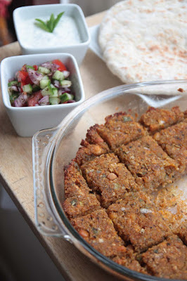Middle Eastern Sweet Potato Kibbeh