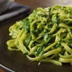 Linguine and Ligurian Pesto