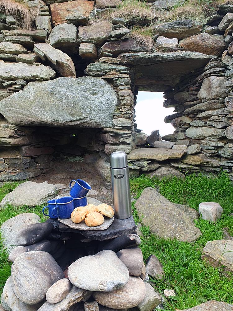 Shetland Picnic at Sandsound