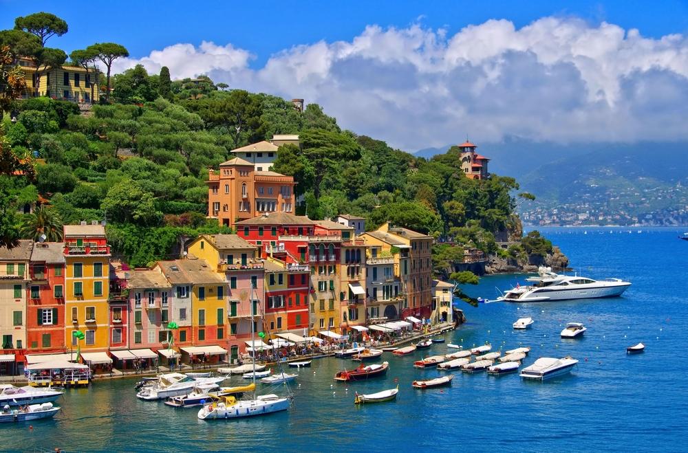 Portofino from Shutterstock, copyright LianeM