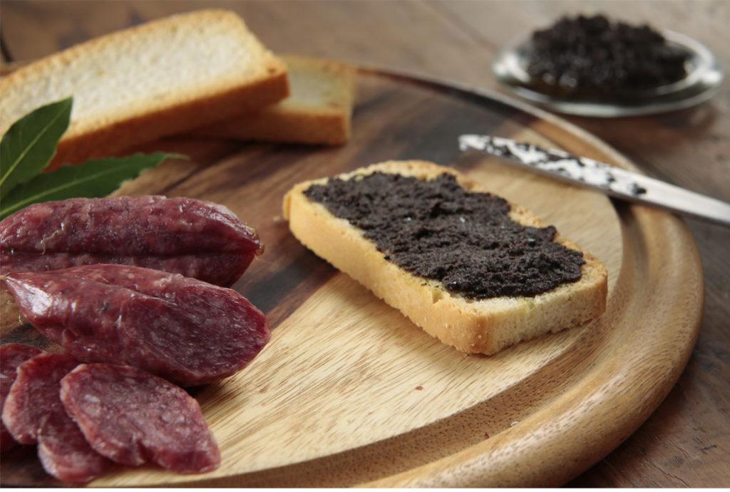 Taggiasca Pate and Wild Boar Salami