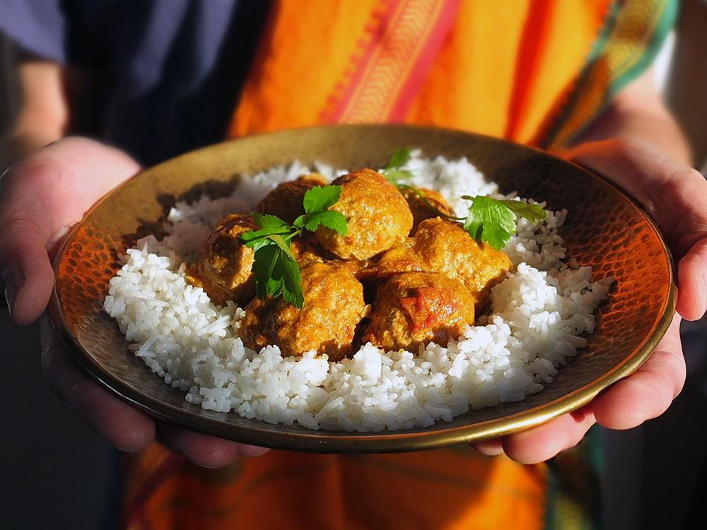 Mamta Gupta's Keema Meatball Curry