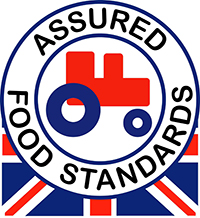 Red Tractor - the largest food assurance scheme in the UK. It claims to ensure the food is traceable, safe to eat and has been produced responsibly.