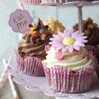 A Selection of Cupcakes for Afternoon Tea