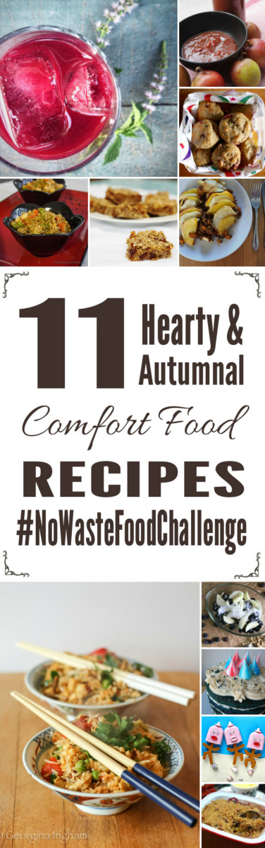 11 Hearty & Autumnal Comfort Food Recipes for the No Waste Food Challenge
