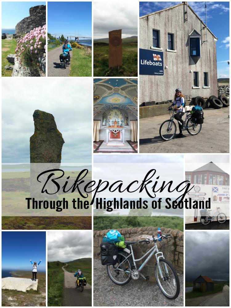 Bikepacking through the Highlands of Scotland