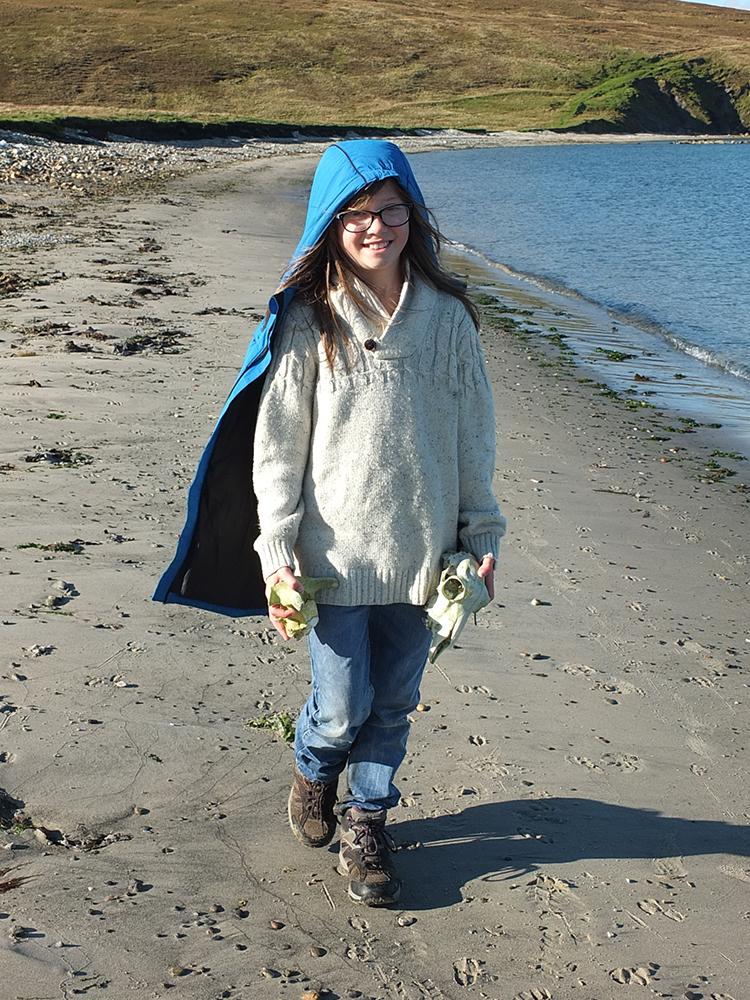 Burra Ness Beach, Shetland