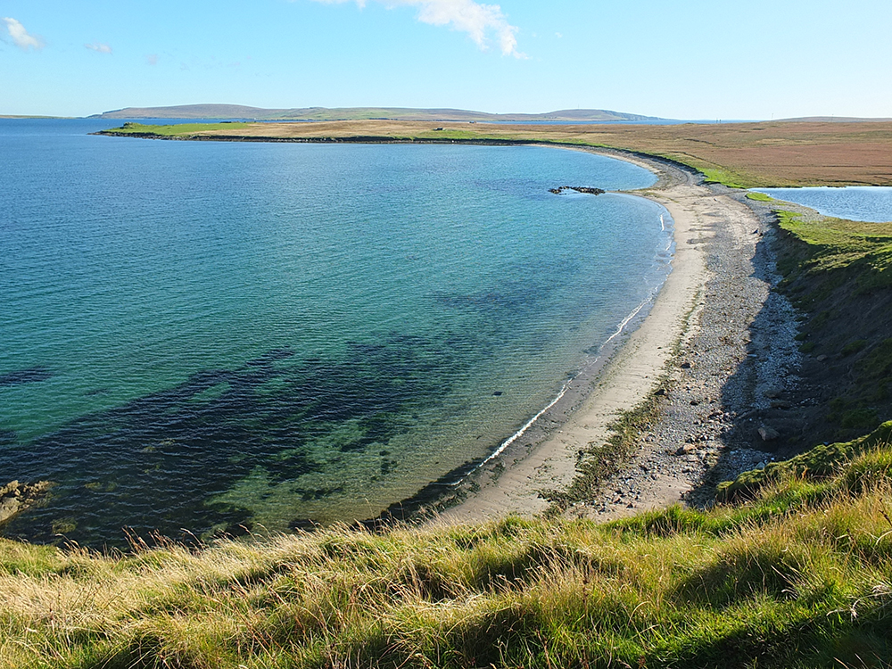 Burra Ness Broch, Yell, Shetland