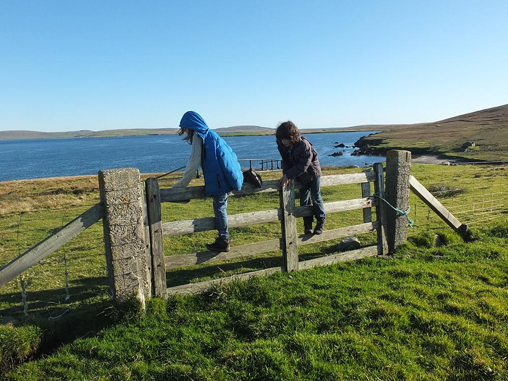 Burra Ness, Shetland