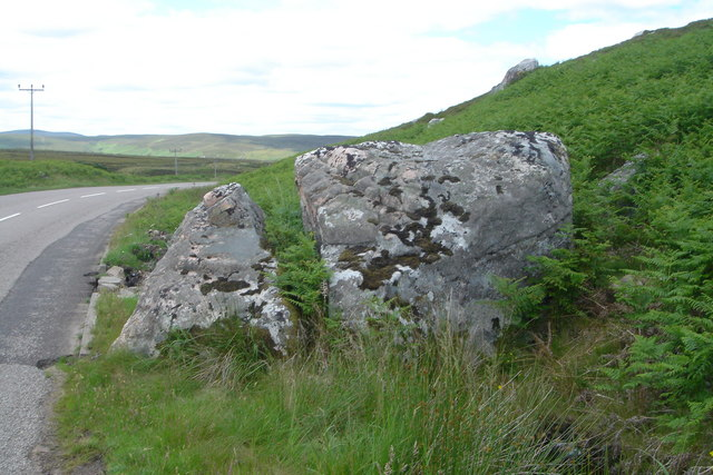 The Split Stone, Melvich - photographed by David Glass