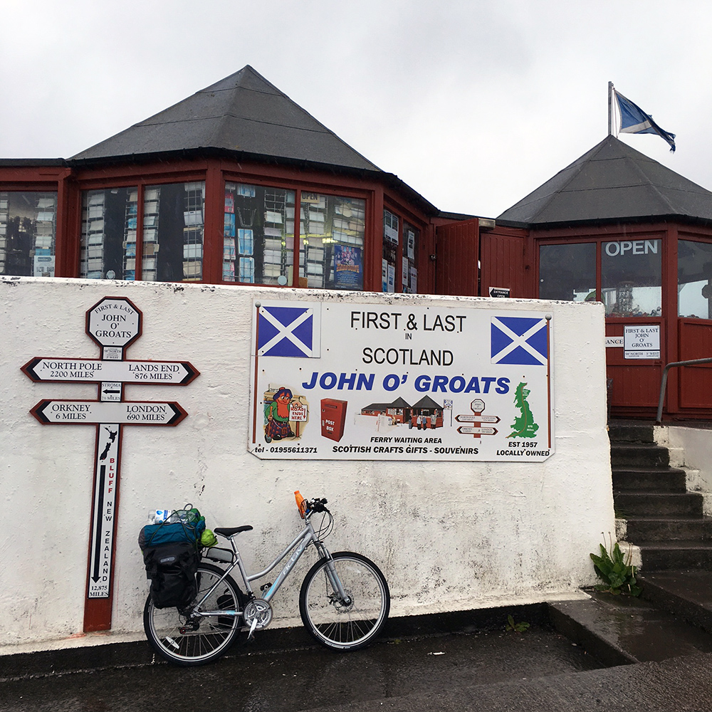 Cycling to John o'Groats