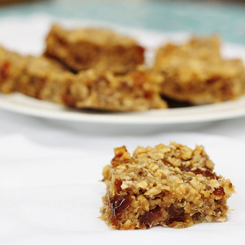 Date and Banana Oaty Bars by Searching for Spice