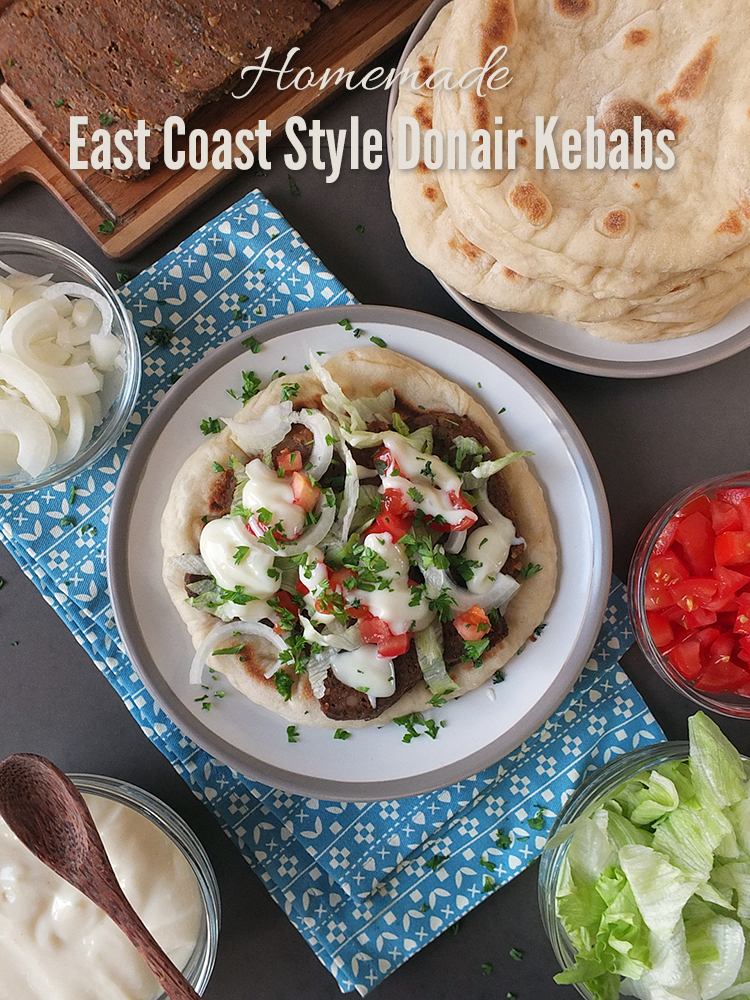 Homemade East Coast Style Donair Kebabs