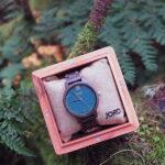 Jord Wood Watch: Frankie - Dark Sandalwood and Emerald