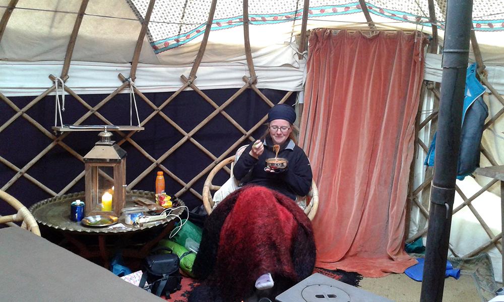 Yurt in Orkney