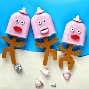 Pina Colada Lolly Folk by The Gluten Free Alchemist