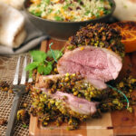 Pistachio & Orange Crusted Lamb #MiniRoast