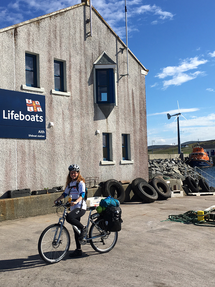 RNLI Fundraising Cycle - Shetland to Ben Nevis Summer 2016
