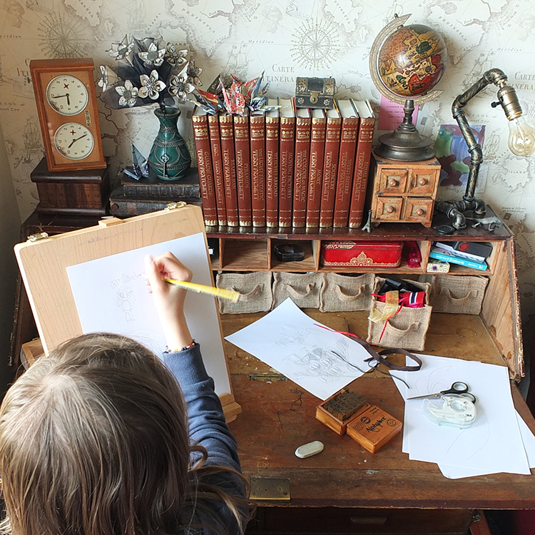 The Drawing Desk