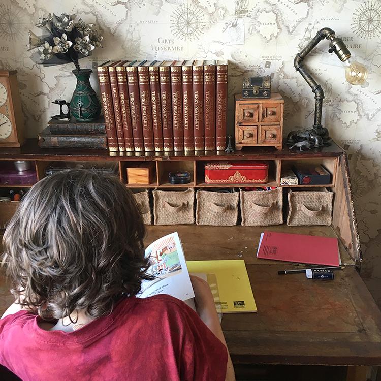 The Homework Desk
