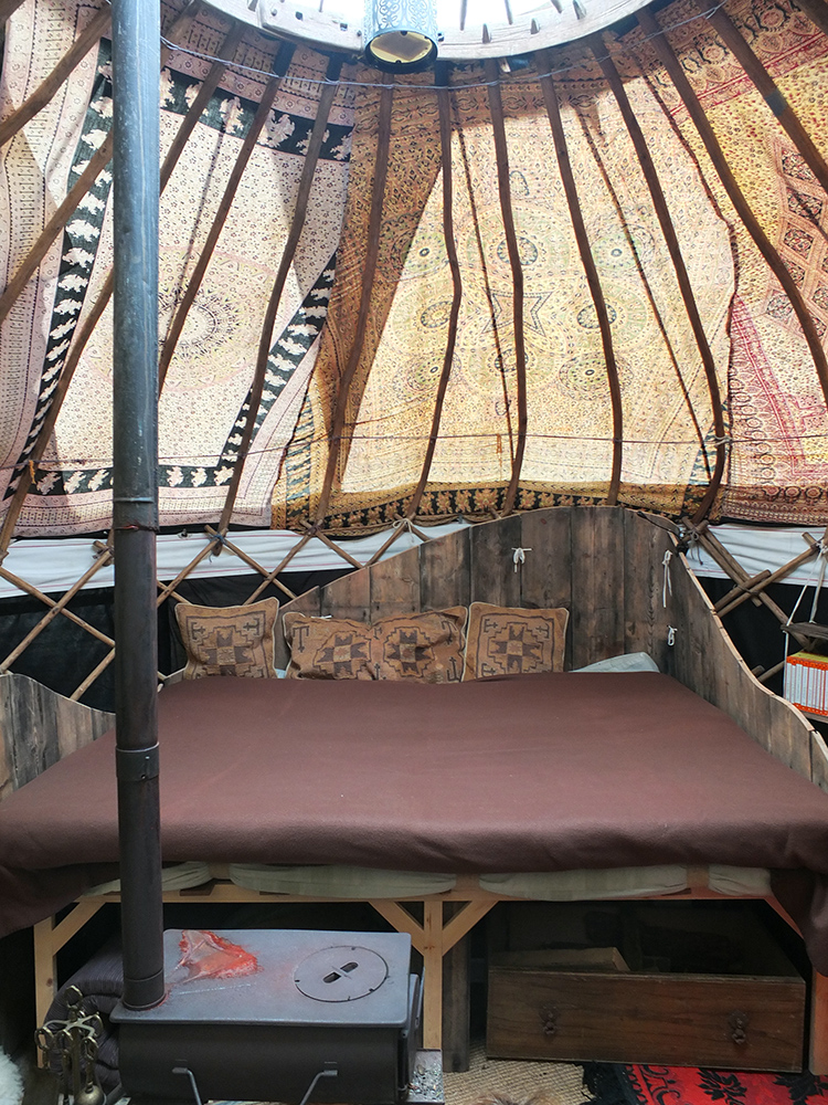 Wheems Organic Camping Yurt, Orkney