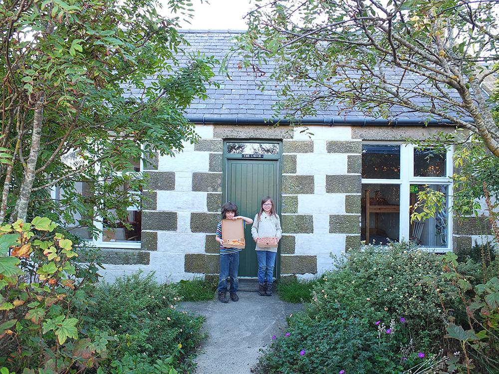 Windhouse Lodge, Mid Yell, Shetland