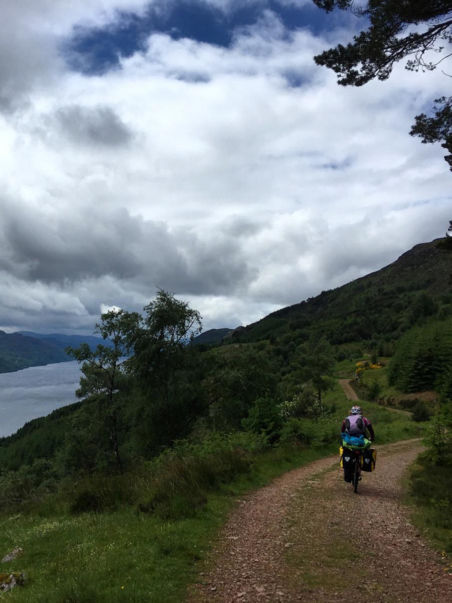 Mountain Biking the Great Glen Way