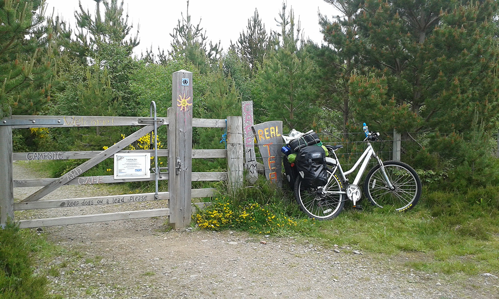 The Great Glen Way - Abriachan Cafe & Campsite