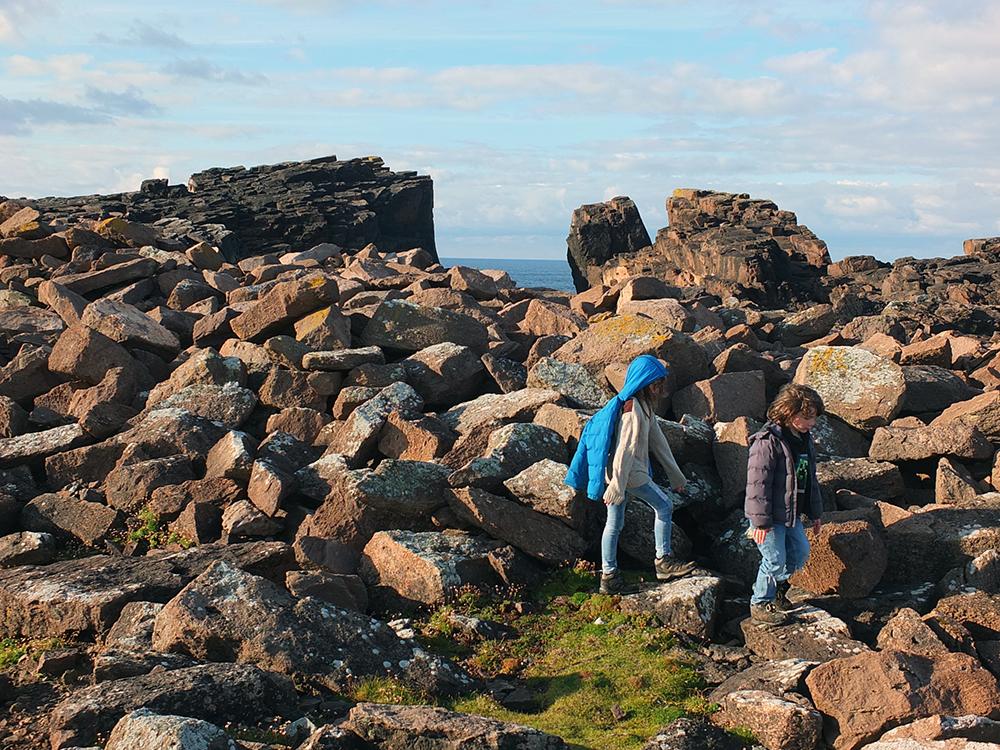 Da Grind o'da Navir, Eshaness, Shetland