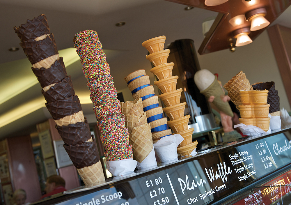 Eastbourne Ice Cream Cones