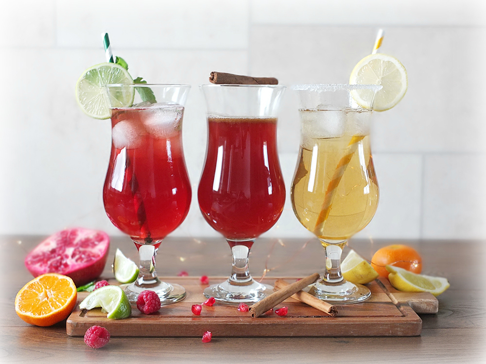 Feel Good Mocktails - The Do Gooder, The Hand Warmer and The Marvellous Mojito