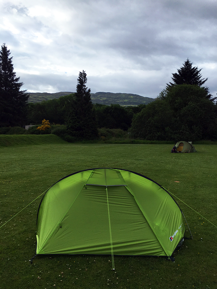 The Great Glen Way - Camping at Fort Augustus