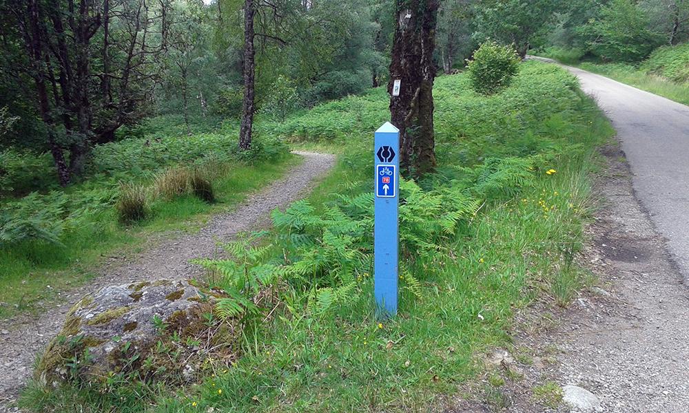 Great Glen Way signpost