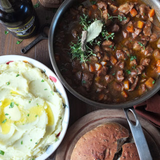 Lamb Casserole with Ale