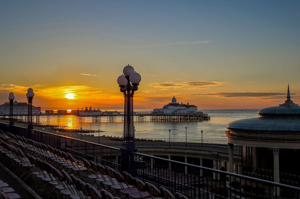 Eastbourne Seafront Sunset