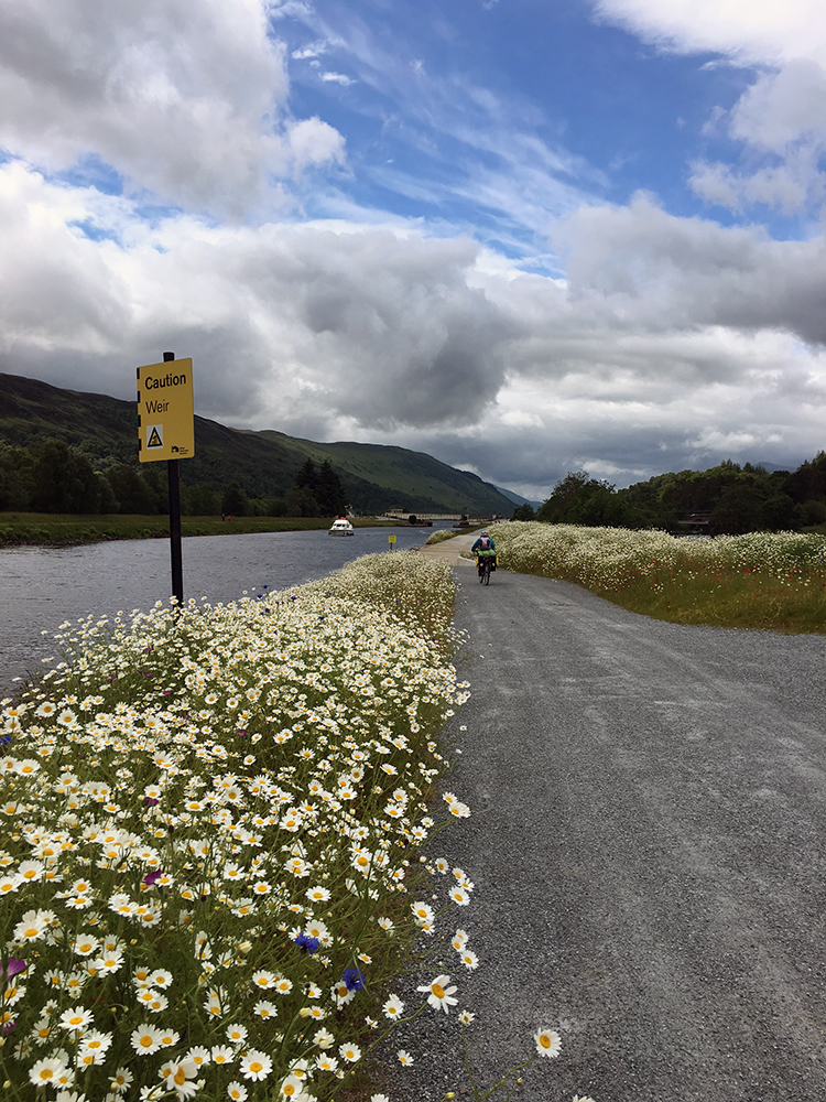 The Great Glen Way Fort Augustus Canal Path